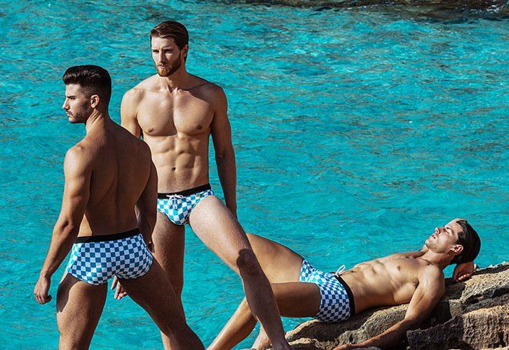 Мъжки бански за лятото според формата